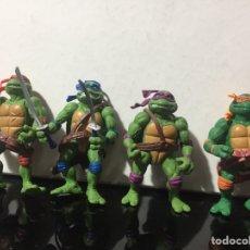 Figuras y Muñecos Tortugas Ninja: LOTE TORTUGAS NINJA PLAY MATES PLAYMATES 1992. Lote 210734649