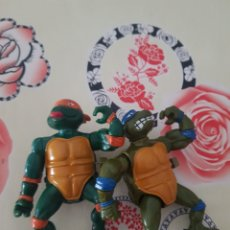 Figuras y Muñecos Tortugas Ninja: LEO Y MIKE WACKY ACTION. Lote 210775324
