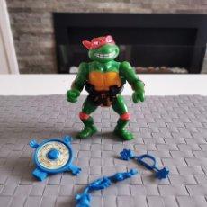 Figuras y Muñecos Tortugas Ninja: TORTUGAS NINJA - RAPHAEL BREAKFIGHIN WACKY ACTION - CON ACCESORIOS Y COMPLETO - 1989. Lote 211473631