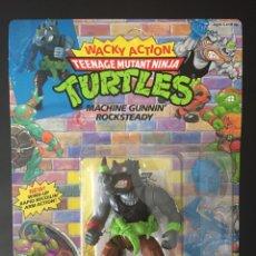 Figuras y Muñecos Tortugas Ninja: FIGURA ROCKSTEADY - TORTUGAS NINJA - TEENAGE MUTANT NUNJA TURTLES TMNT - PLAYMATES BANDAI. Lote 211581197