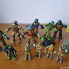 Figuras y Muñecos Tortugas Ninja: LOTE DE FIGURAS DE TORTUGAS NINJA. Lote 211589282