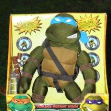 Figuras y Muñecos Tortugas Ninja: MUÑECO TORTUGAS NINJA LEONARDO DE 32 CM NUEVO EN CAJA, MARCA PLAYMATES. Lote 211657714