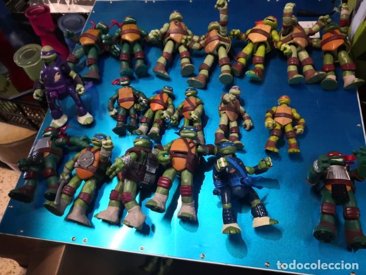 LOTE DE 19 FIGURAS TORTUGAS NINJA (Juguetes - Figuras de Acción - Tortugas Ninja)