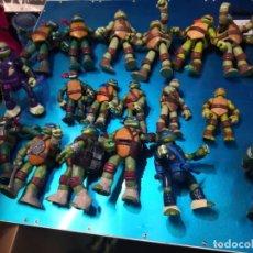 Figuras y Muñecos Tortugas Ninja: LOTE DE 19 FIGURAS TORTUGAS NINJA. Lote 212410310