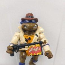 Figuras y Muñecos Tortugas Ninja: FIGURA DE ACCION SERIE TORTUGAS NINJA DON UNDERCOVER CON 1 COMPLEMENTO VINTAGE AÑOS 90. Lote 213320630