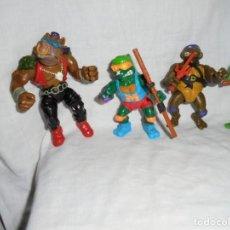 Figuras y Muñecos Tortugas Ninja: 4 TORTUGAS MIRAGE PLAYMATES 1988. Lote 214508065