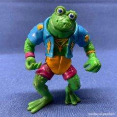 Figure e Bambolotti Tortugas Ninja: TORTUGAS NINJAS - TEENAGE MUTANT - GENGHIS FROG - 1989 - MIRAGE STUDIOS - PLAYMATES TOYS. Lote 217004305