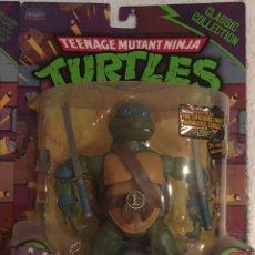 Figuras y Muñecos Tortugas Ninja: TORTUGA NINJA LEONARDO PRECINTADA TORTUGAS NINJA FIGURA. Lote 217009372