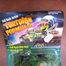 Figurines et Jouets Tortues Ninja: RARO BLISTER BOOTLEG TORTOISE BLISTER TORTUGA NINJA FURMULA 1 BOOTLEG AÑOS 80. Lote 274169098