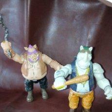Figuras y Muñecos Tortugas Ninja: FIGURAS BEBOP Y ROCKSTEADY DE LAS TORTUGAS NINJA. Lote 220644356