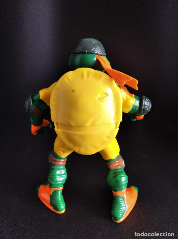 Figuras y Muñecos Tortugas Ninja: MICHELANGELO MOROTORISTA - LAS TORTUGAS NINJA 2002 - PLAYMATES TMNT - Foto 2 - 221250670