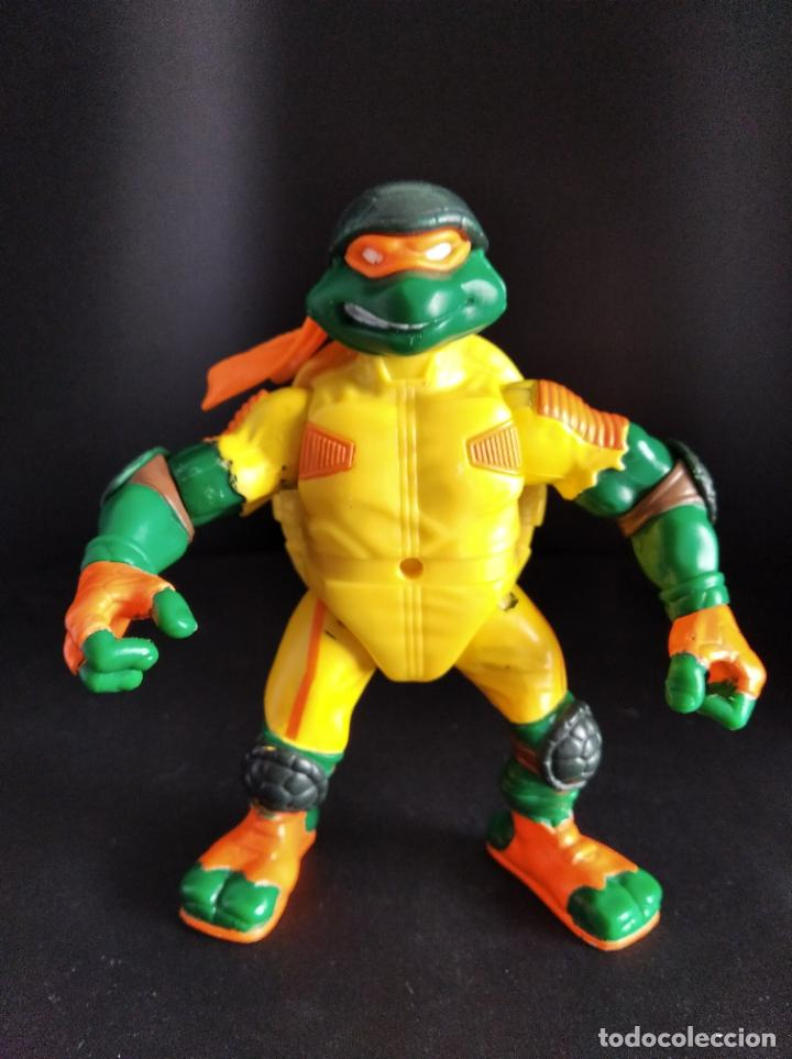 MICHELANGELO MOROTORISTA - LAS TORTUGAS NINJA 2002 - PLAYMATES TMNT (Juguetes - Figuras de Acción - Tortugas Ninja)