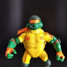 Figuras y Muñecos Tortugas Ninja: MICHELANGELO MOROTORISTA - LAS TORTUGAS NINJA 2002 - PLAYMATES TMNT. Lote 221250670