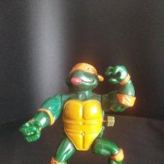 Figuras y Muñecos Tortugas Ninja: MICHELANGELO MOVIMIENTO A CUERDA - TORTUGAS NINJA SERIE DE TV, SERIE CLASICA 1989 PLAYMATES TMNT.. Lote 221548842