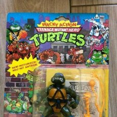 Figuras y Muñecos Tortugas Ninja: TORTUGAS NINJA PLAYMATES WACKY ACTION LEONARDO. Lote 221869246