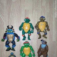 Figuras y Muñecos Tortugas Ninja: LOTE TORTUGAS NINJA TMNT VINTAGE. Lote 222017253