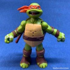 Figuras y Muñecos Tortugas Ninja: TORTUGAS NINJAS - MICHELANGELO - VIACOM - AÑO 2012 - FUNCIONA - VER VIDEO. Lote 222593476