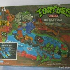 Figuras y Muñecos Tortugas Ninja: TORTUGAS NINJAS JET-SKI FOOT, EN CAJA. CC. Lote 222627305
