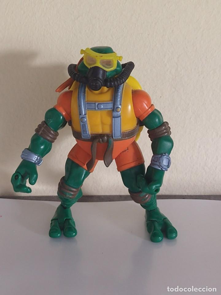 TORTUGAS NINJA SUBMARINISTA 2002 PLAYMATES TMNT (Juguetes - Figuras de Acción - Tortugas Ninja)