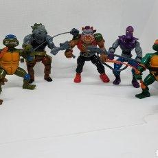 Figure e Bambolotti Tortugas Ninja: LOTE FIGURAS TORTUGAS NINJA MIRAGE STUDIOS PLAYMATES FOOT SOLDIER TOYS 1988. Lote 224376277