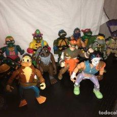 Figure e Bambolotti Tortugas Ninja: LOTE DE ANTIGUAS FIGURAS TORTUGAS NINJA. Lote 225188420