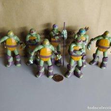 Figuras y Muñecos Tortugas Ninja: CONJUNTO TORTUGAS NINJA VIACOM 2013. Lote 226835970