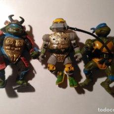 Figuras y Muñecos Tortugas Ninja: 3 FIGURAS TORTUGAS NINJA. Lote 227751946