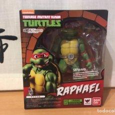 Figuras e Bonecos Tartarugas Ninja: RAPHAEL SHFIGUARTS BANDAI TEENAGE MUTANT NINJA TURTLES / LAS TORTUGAS NINJA ¡NUEVA!. Lote 227784829