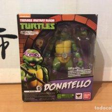 Figuras e Bonecos Tartarugas Ninja: DONATELLO SHFIGUARTS BANDAI TEENAGE MUTANT NINJA TURTLES / LAS TORTUGAS NINJA ¡NUEVA!. Lote 227932610