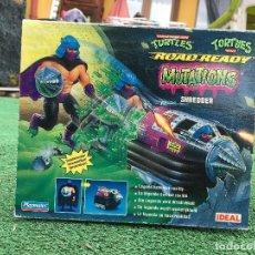 Figurines et Jouets Tortues Ninja: MASTERS LOTE NINJA TURTLES TMNT MUTATIONS SHREDDER DESPEDAZADOR TORTUGAS NINJA AÑOS 90 ROAD NUEVO. Lote 228831490