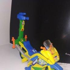 Figuras e Bonecos Tartarugas Ninja: TORTUGAS NINJA NEWSCYCLE MOTO DE APRIL ONEILL VEHÍCULO TORTUGA. Lote 231223480