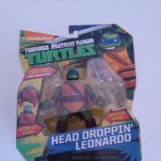 Figuras y Muñecos Tortugas Ninja: TORTUGAS NINJA LEONARDO TURTLES NICKELODEON.. Lote 231327515