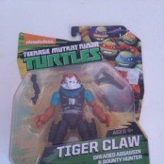 Figuras y Muñecos Tortugas Ninja: TORTUGAS NINJA TIGER CLAW TURTLES NICKELODEON.. Lote 231328425