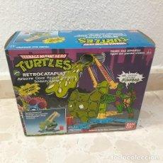 Figurines et Jouets Tortues Ninja: RETROCATAPULT (NINJA TURTLES) (PLAYMATES 1988) ¡NUEVO!. Lote 232487665