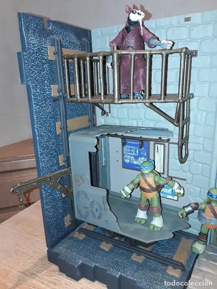 Figuras y Muñecos Tortugas Ninja: Base mutante tortugas ninja , Playmates Toys 2003, Mirage Studios. - Foto 2 - 232857640