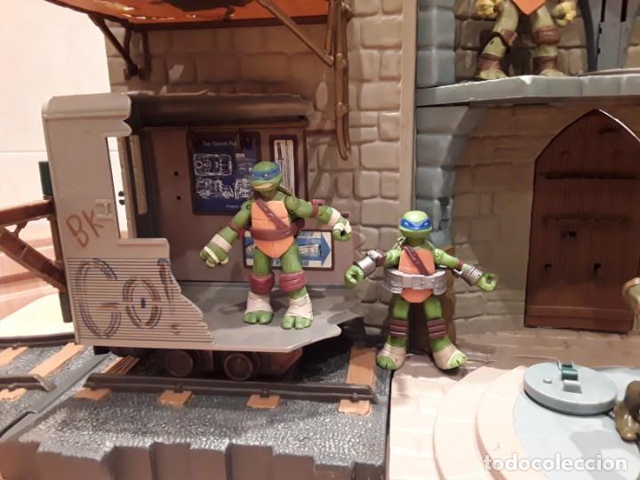 Figuras y Muñecos Tortugas Ninja: Base mutante tortugas ninja , Playmates Toys 2003, Mirage Studios. - Foto 3 - 232857640