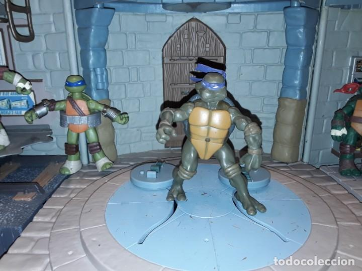Figuras y Muñecos Tortugas Ninja: Base mutante tortugas ninja , Playmates Toys 2003, Mirage Studios. - Foto 5 - 232857640