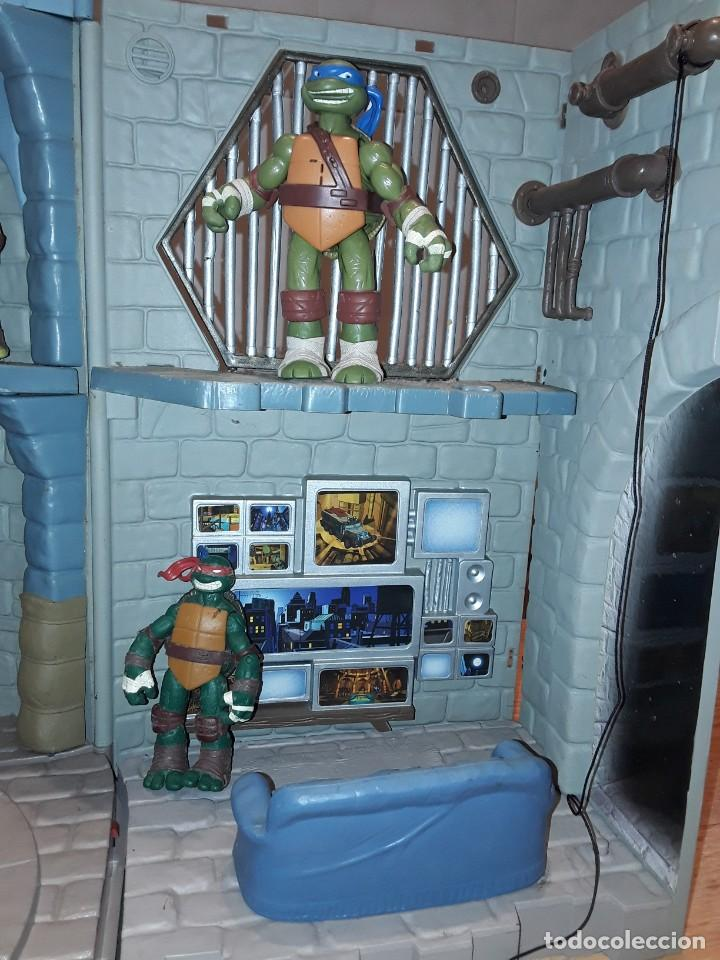 Figuras y Muñecos Tortugas Ninja: Base mutante tortugas ninja , Playmates Toys 2003, Mirage Studios. - Foto 6 - 232857640