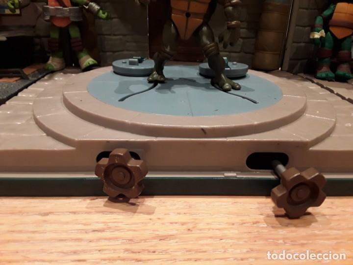 Figuras y Muñecos Tortugas Ninja: Base mutante tortugas ninja , Playmates Toys 2003, Mirage Studios. - Foto 7 - 232857640