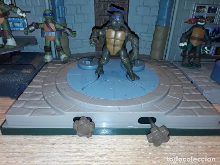 Figuras y Muñecos Tortugas Ninja: Base mutante tortugas ninja , Playmates Toys 2003, Mirage Studios. - Foto 8 - 232857640