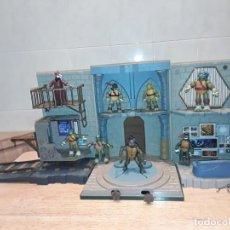 Figuras y Muñecos Tortugas Ninja: BASE MUTANTE TORTUGAS NINJA , PLAYMATES TOYS 2003, MIRAGE STUDIOS.. Lote 232857640
