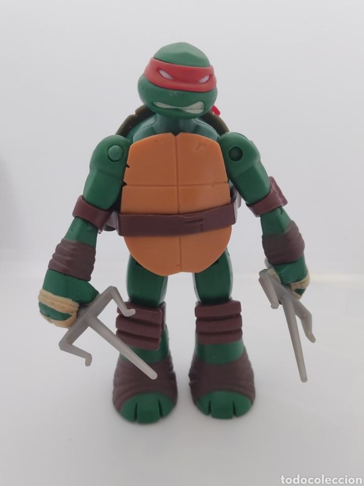 Figuras y Muñecos Tortugas Ninja: Tortugas ninja Raphael Battle Shell - 2013 viacom - tmnt - - Foto 2 - 287102583