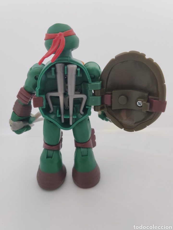 Figuras y Muñecos Tortugas Ninja: Tortugas ninja Raphael Battle Shell - 2013 viacom - tmnt - - Foto 4 - 287102583