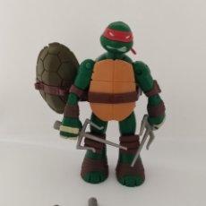 Figuras y Muñecos Tortugas Ninja: TORTUGAS NINJA RAPHAEL BATTLE SHELL - 2013 VIACOM - TMNT -. Lote 287102583