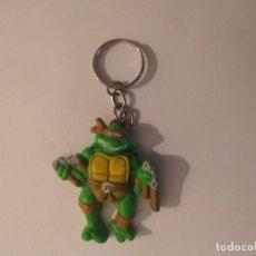 Figuras y Muñecos Tortugas Ninja: TORTUGAS NINJA LLAVERO MICHELANGELO TNMT 1988. Lote 235304725