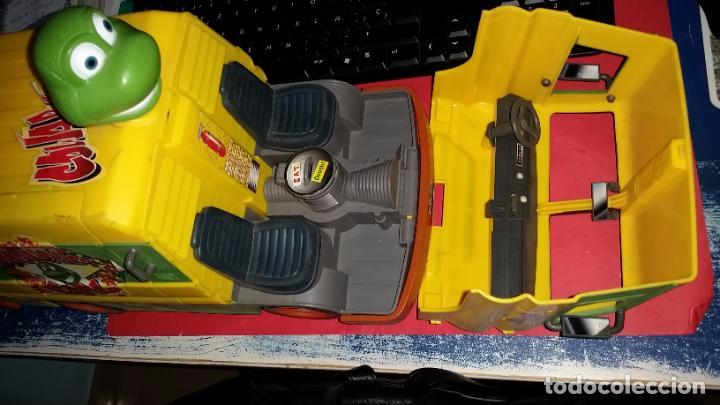 Figuras y Muñecos Tortugas Ninja: ANTIGUA FURGONETA COWABUNGA CARL DE LAS TORTUGAS NINJA DE GRAN TAMAÑO PLAYMATES 2006 - Foto 2 - 238710165