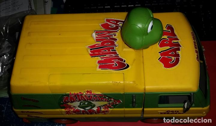 ANTIGUA FURGONETA COWABUNGA CARL DE LAS TORTUGAS NINJA DE GRAN TAMAÑO PLAYMATES 2006 (Juguetes - Figuras de Acción - Tortugas Ninja)