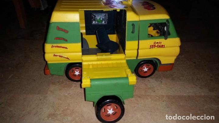 Figuras y Muñecos Tortugas Ninja: ANTIGUA FURGONETA COWABUNGA CARL DE LAS TORTUGAS NINJA DE GRAN TAMAÑO PLAYMATES 2006 - Foto 8 - 238710165
