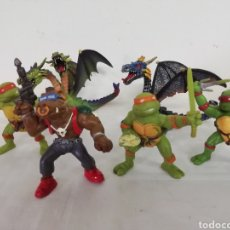 Figuras y Muñecos Tortugas Ninja: TORTUGAS NINJA 1988 Y DRAGONES. Lote 239458850