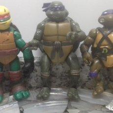 Figurines et Jouets Tortues Ninja: TRES TORTUGAS NINJA. Lote 241826475
